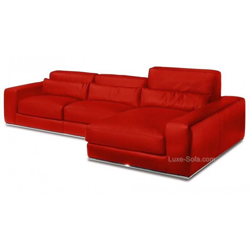 Canap d 39 angle de luxe salon d 39 angle 100 cuir haut de gamme matisse - Fabricant canape cuir italien ...