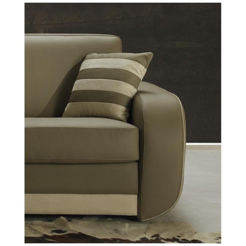 canap lit rapido cuir beige convertible syst me rapido pas cher. Black Bedroom Furniture Sets. Home Design Ideas