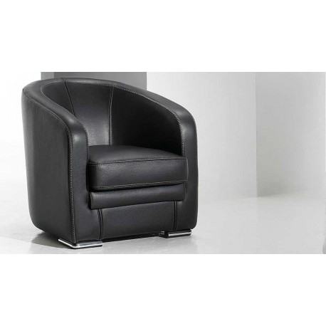 Nettuno fauteuil cuir design canap cuir luxesofa - Fauteuils club pas cher ...