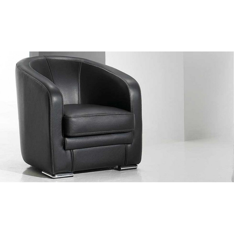 fauteuil cuir design pictures to pin on pinterest. Black Bedroom Furniture Sets. Home Design Ideas