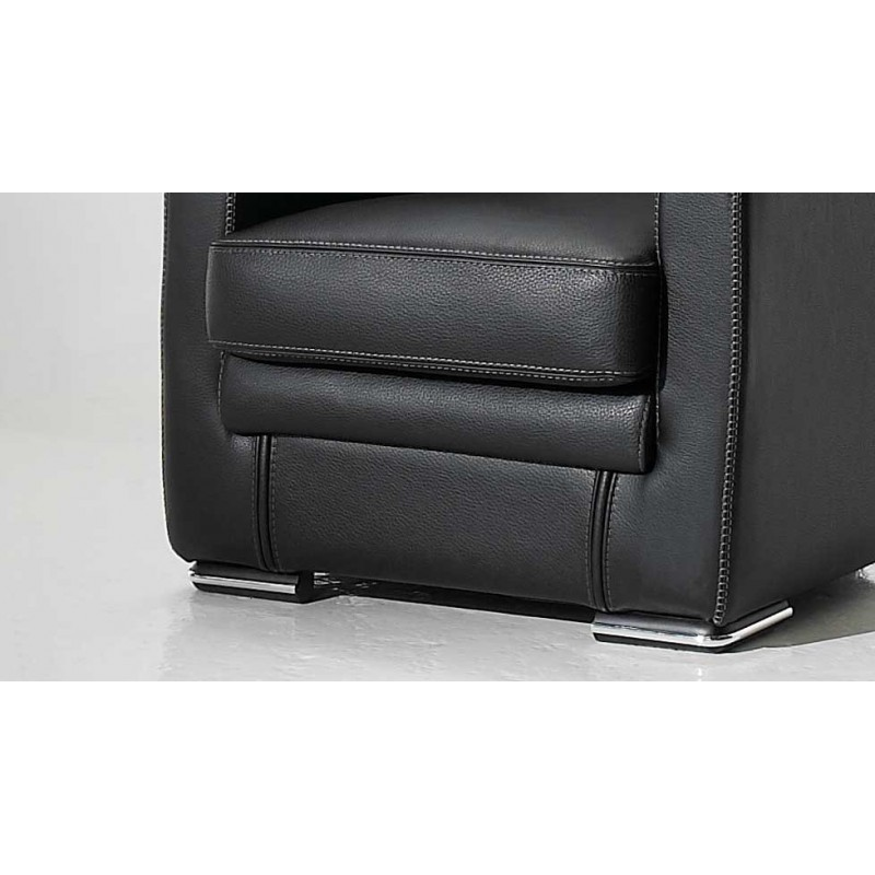 nettuno fauteuil cuir design canap cuir luxesofa. Black Bedroom Furniture Sets. Home Design Ideas