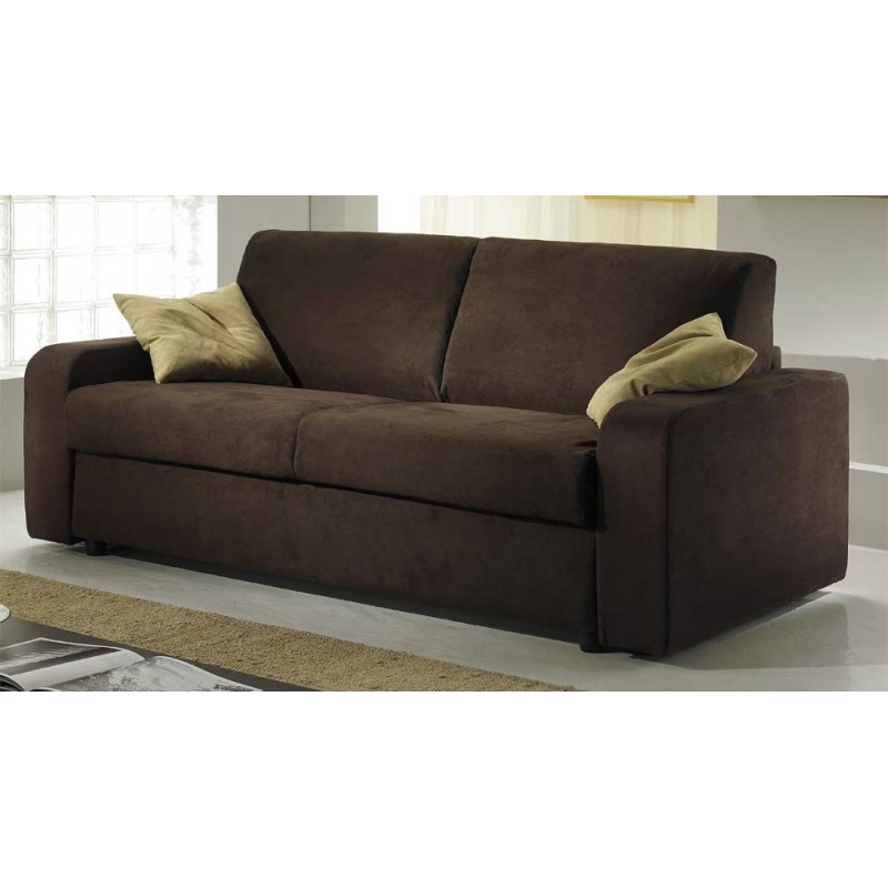 canap rapido convertible tissu microfibre 2 places couchage 120 cm. Black Bedroom Furniture Sets. Home Design Ideas
