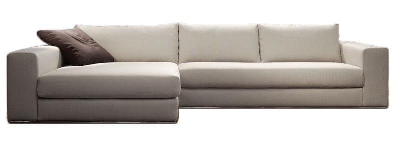 Canap d 39 angle tissu haut de gamme portofino par verysofa italie - Canape d angle large assise ...