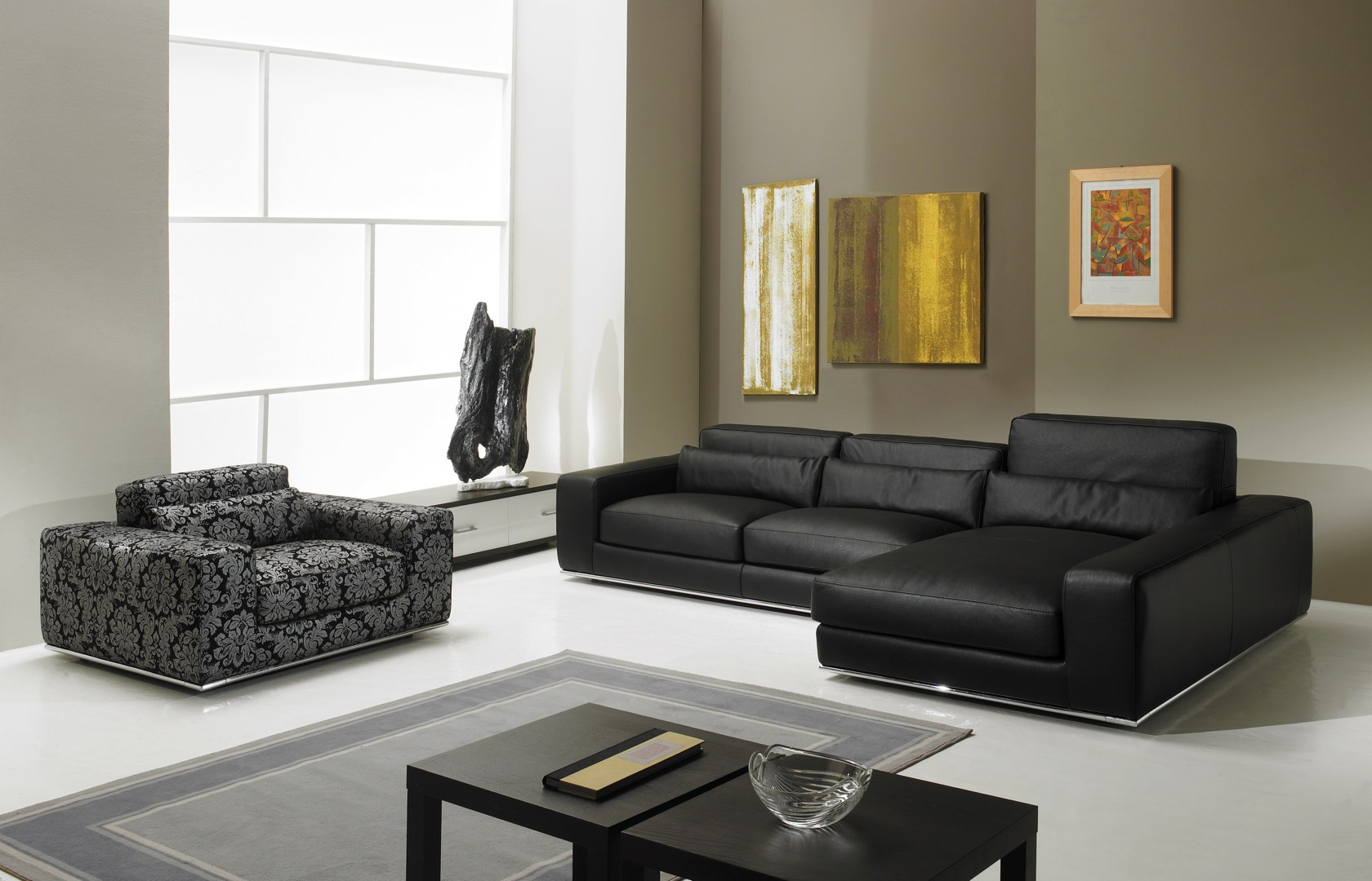 canap d 39 angle de luxe en cuir de vachette matisse verysofa