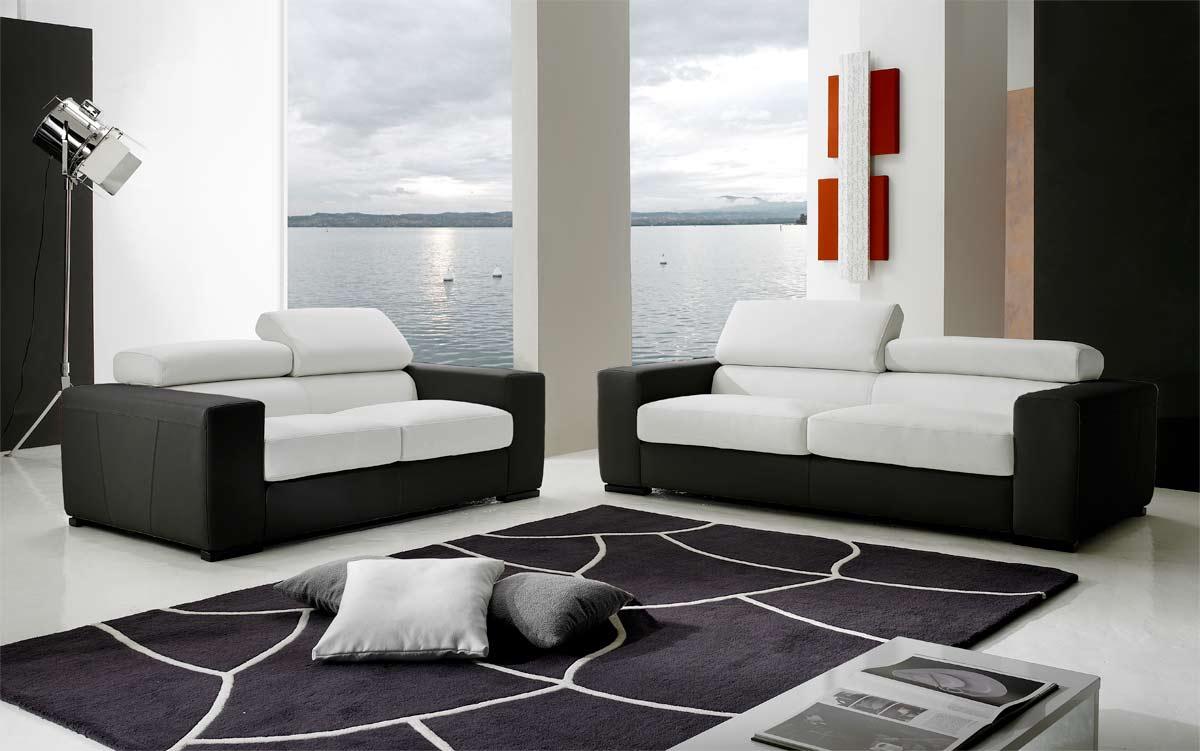 canap cuir 2 places pas cher simple canape convertible cuir places canape convertible cuir. Black Bedroom Furniture Sets. Home Design Ideas