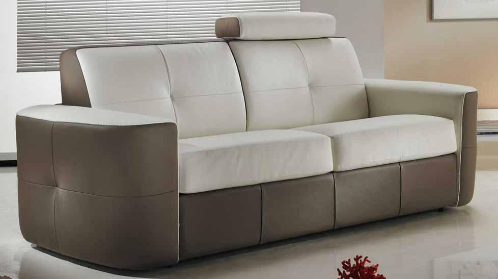 canap cuir italien personnalisable en promo. Black Bedroom Furniture Sets. Home Design Ideas
