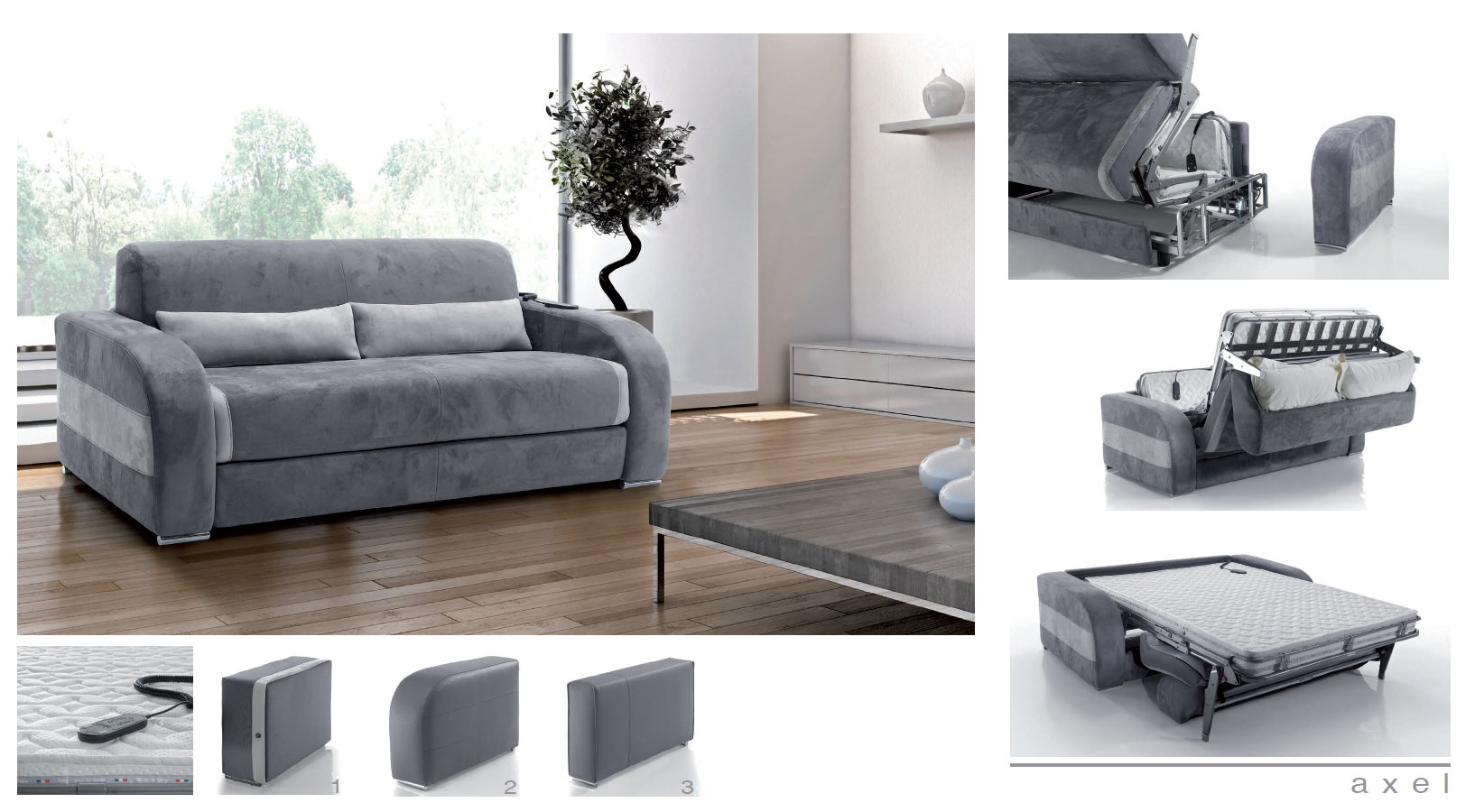 canap lit rapido lectrique axel par verysofa rapido convertible. Black Bedroom Furniture Sets. Home Design Ideas