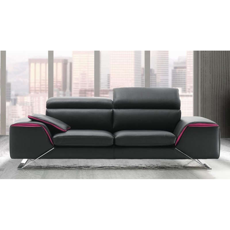 Canap design italien en cuir verysofa direct usine 25 for Canape design italien