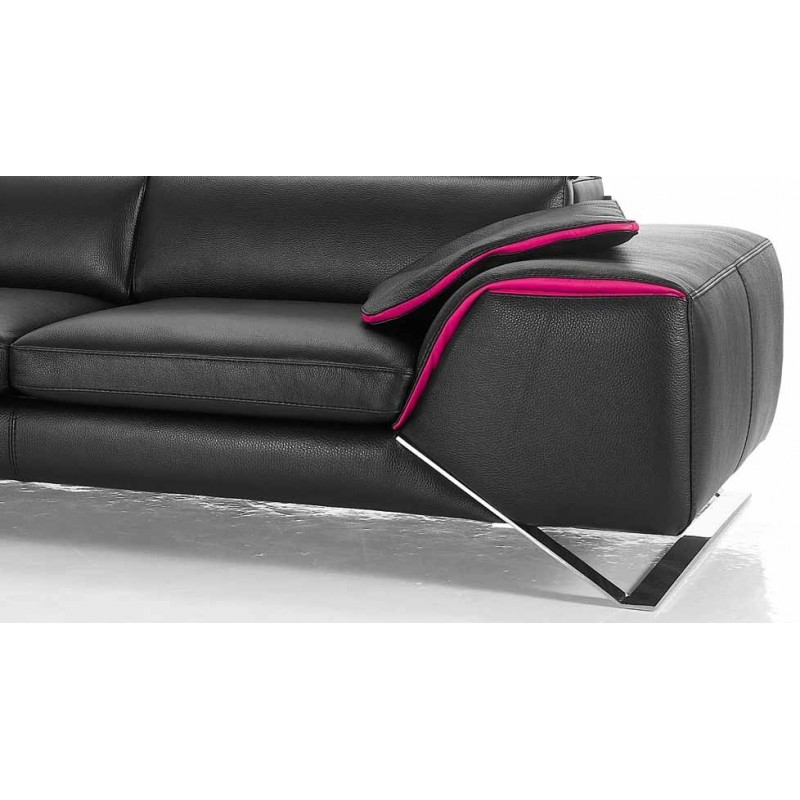 Canap design italien en cuir verysofa direct usine 25 for Canape design