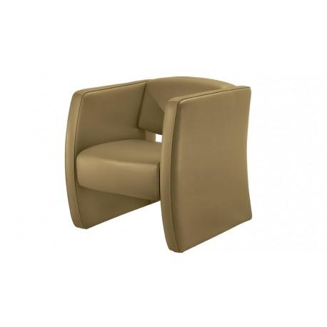 Audria fauteuil cuir design canapé cuir Luxesofa