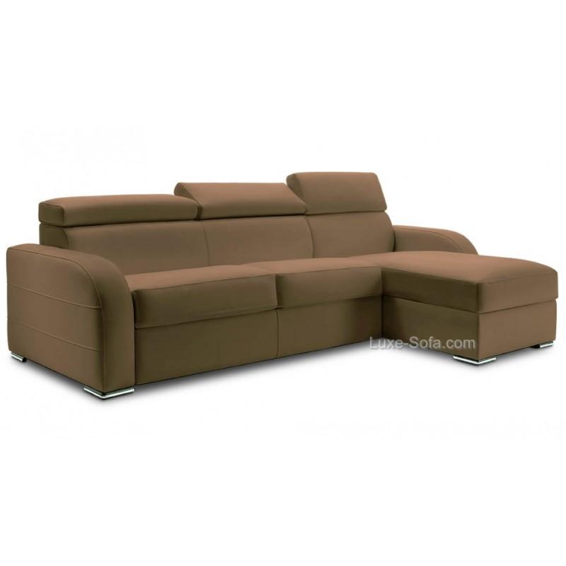 petit canap d 39 angle r versible et convertible avec appui t te. Black Bedroom Furniture Sets. Home Design Ideas