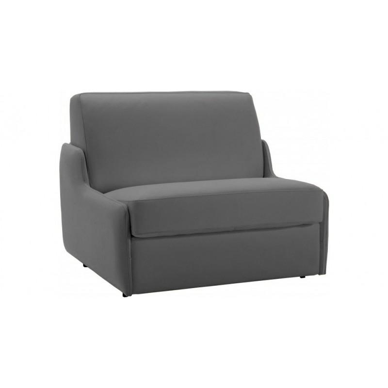 Fauteuil lit convertible rapido couchage quotidien en cuir ou tissu - Canape lit pour couchage quotidien ...