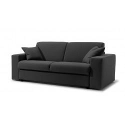 Canapé-lit en tissu microfibre convertible système Rapido
