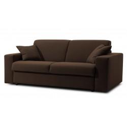 Canapé lit microfibre noir