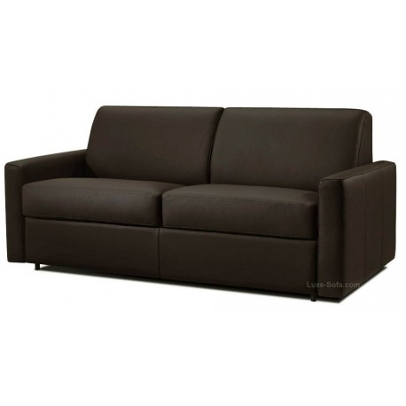 Canap convertible cuir syst me rapido dream verysofa for Canape 140 cm de large