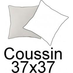 Coussin de décoration assorti en tissu