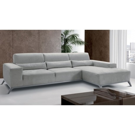 canap d 39 angle de luxe en microfibre fabriqu en italie. Black Bedroom Furniture Sets. Home Design Ideas