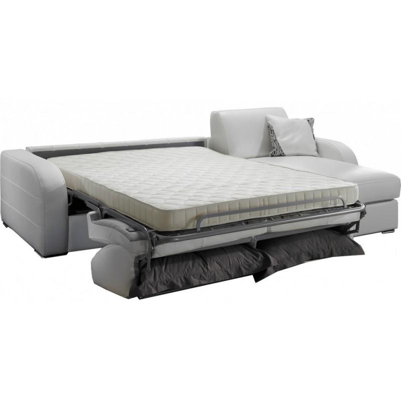 canap lit d 39 angle r versible 5 places lit 140 cm. Black Bedroom Furniture Sets. Home Design Ideas