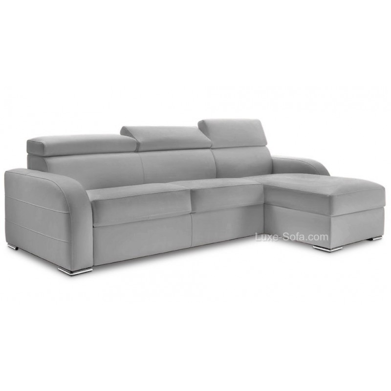 canap angle convertible r versible couchage quotidien 140 x 195 cm. Black Bedroom Furniture Sets. Home Design Ideas