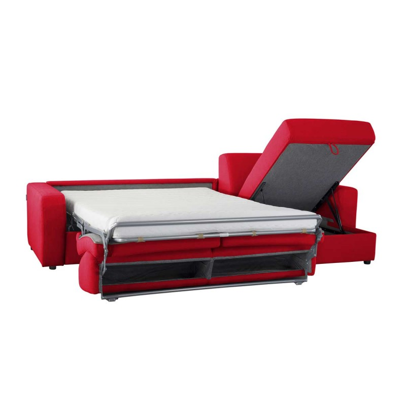 canap lit d 39 angle r versible microfibre convertible syst me rapido. Black Bedroom Furniture Sets. Home Design Ideas