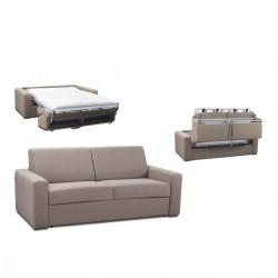 Canapé rapido tissu pas cher - canapé lit convertible gris clair