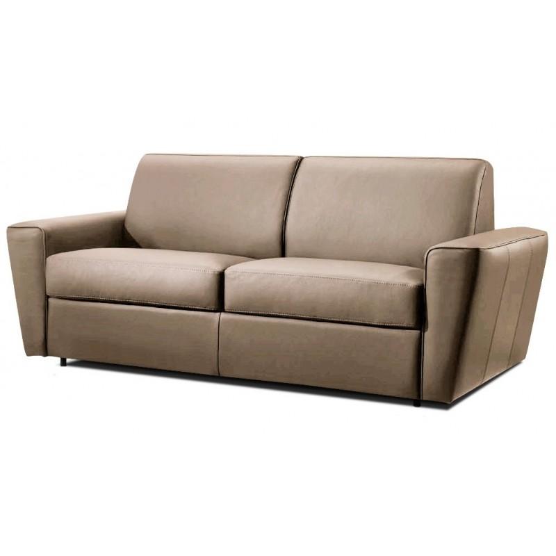 canap convertible express en cuir promo 28. Black Bedroom Furniture Sets. Home Design Ideas