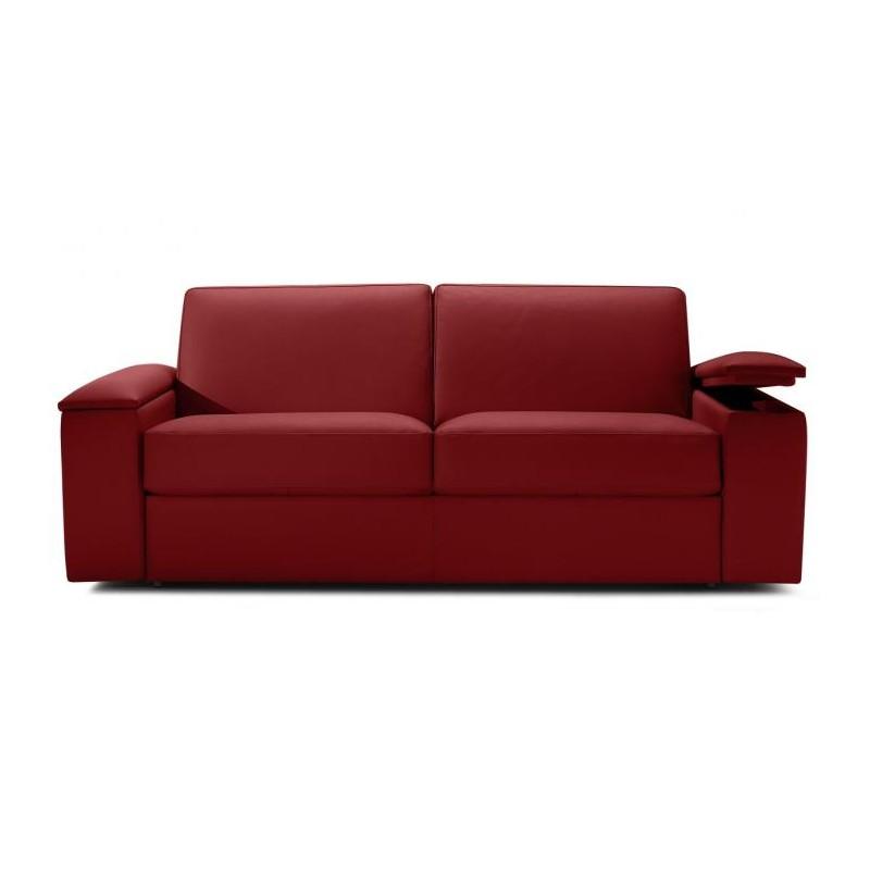 canap lit express cuir avec rangement accoudoir direct. Black Bedroom Furniture Sets. Home Design Ideas
