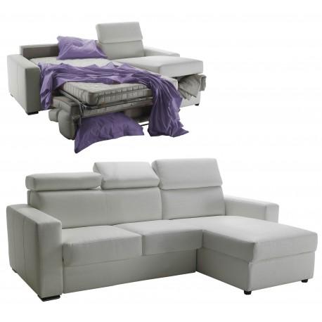 canap d 39 angle convertible et r versible en cuir meilleur. Black Bedroom Furniture Sets. Home Design Ideas