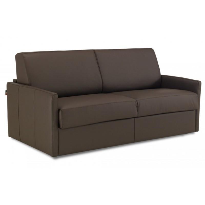 canap lit cuir ouverture rapido accoudoirs fins nouveau 2018. Black Bedroom Furniture Sets. Home Design Ideas