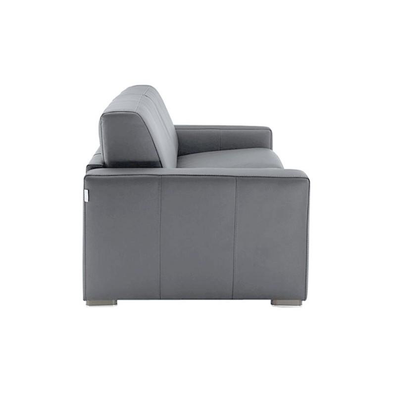 canap convertible en cuir matelas 14 cm petit prix. Black Bedroom Furniture Sets. Home Design Ideas