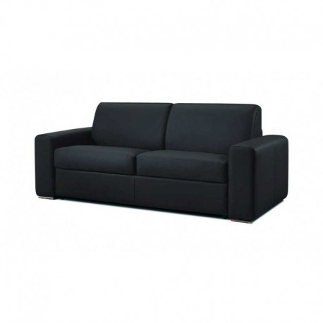 Canapé lit en tissu noir ouverture express Dream Verysofa