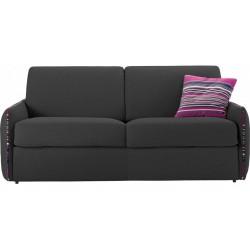 Petit canapé lit en tissu à ouverture rapido