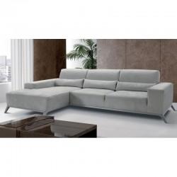 Canapé d'angle droit en microfibre de luxe Picasso par Verysofa - Prix direct usine Italie