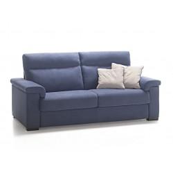 Canapé lit tissu déperlant matelas 18 cm - Rosini