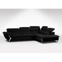 Canapé d'angle en cuir de luxe Monet par Verysofa