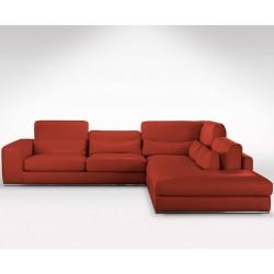 canap angle cuir et tissu haut de gamme direct italie pas cher. Black Bedroom Furniture Sets. Home Design Ideas
