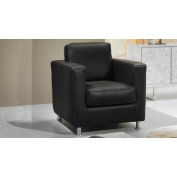 fauteuil de salon en cuir ou tissu haut de gamme. Black Bedroom Furniture Sets. Home Design Ideas