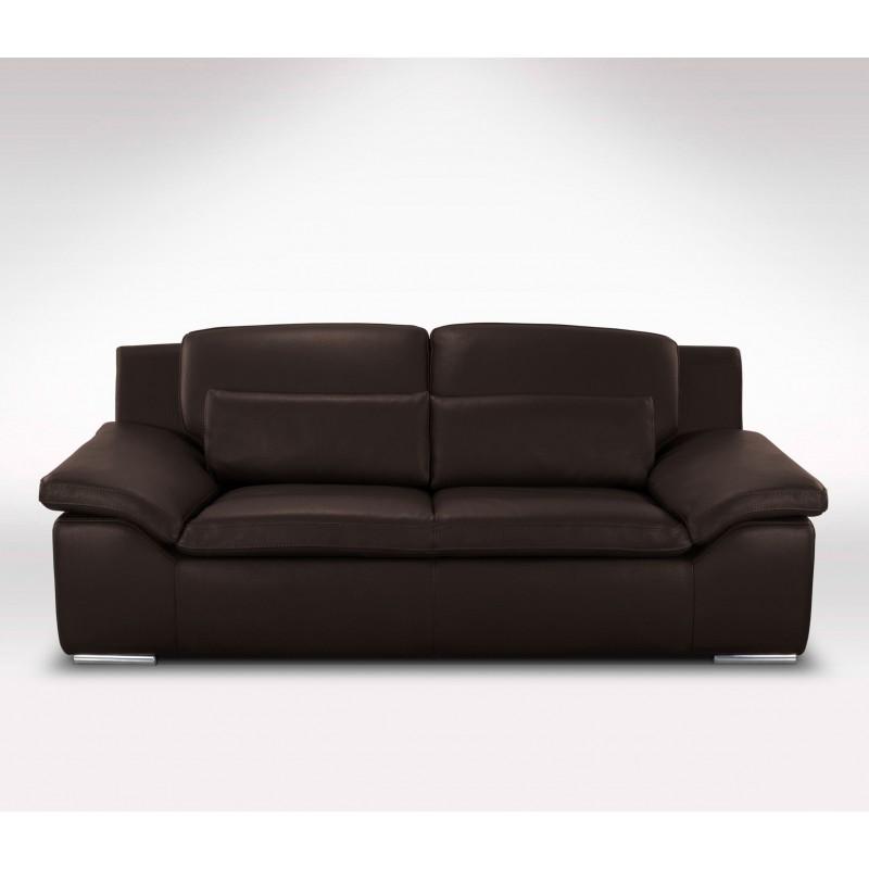 canap en cuir 2 places et 3 places glamour verysofa 23. Black Bedroom Furniture Sets. Home Design Ideas