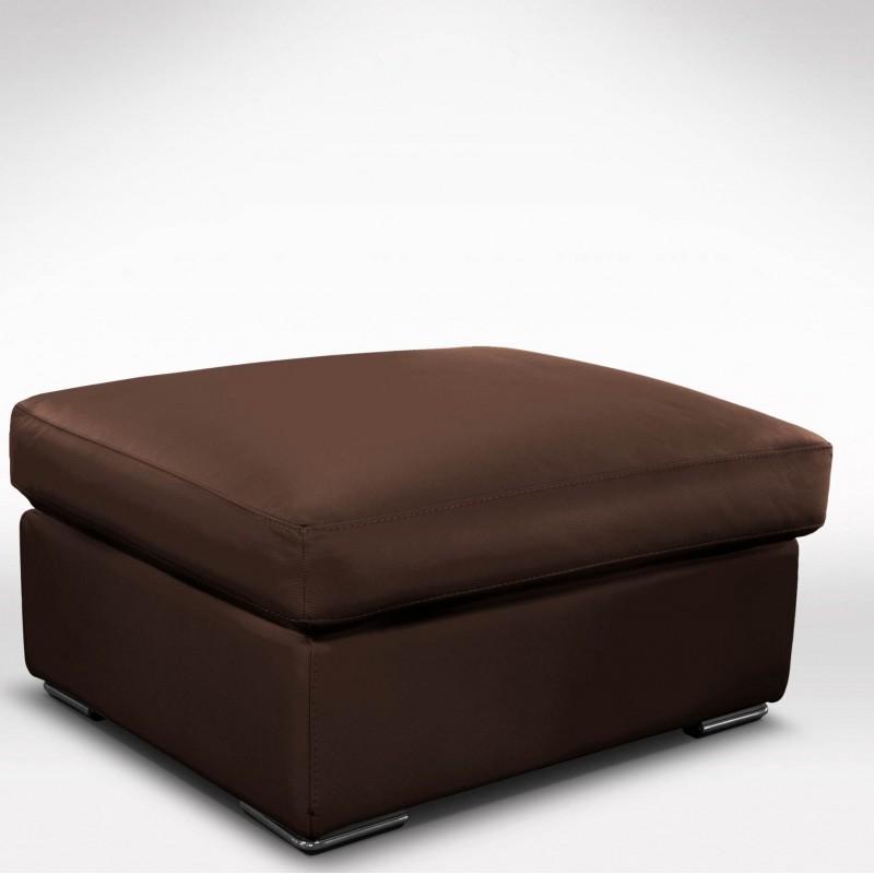 pouf coffre avec rangement 100 cuir. Black Bedroom Furniture Sets. Home Design Ideas
