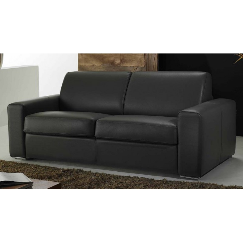 canap convertible cuir haut de gamme ouverture express verysofa. Black Bedroom Furniture Sets. Home Design Ideas