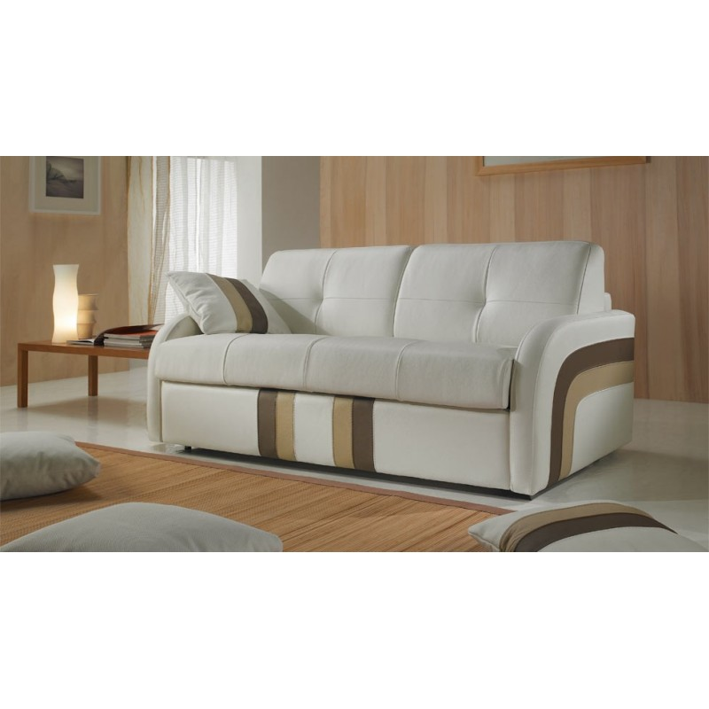 canap convertible rapido en cuir linea prix usine verysofa. Black Bedroom Furniture Sets. Home Design Ideas