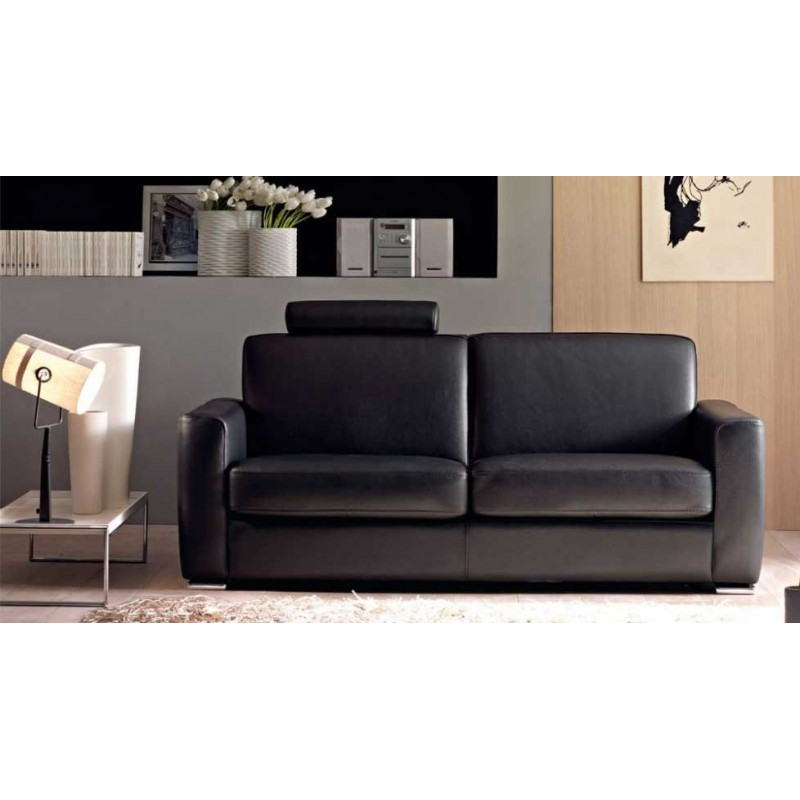 cortina canap cuir 2 places canap cuir luxesofa. Black Bedroom Furniture Sets. Home Design Ideas