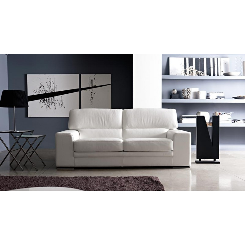 canap design cuir blanc fabulous canape duangle cuir design pas cher with canap design cuir. Black Bedroom Furniture Sets. Home Design Ideas