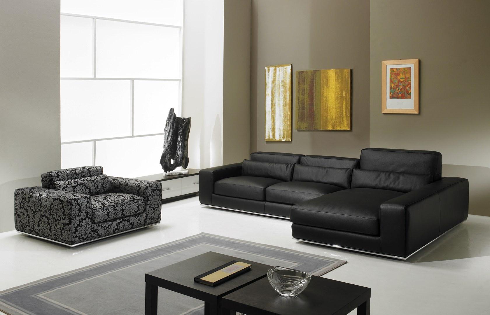 Canapé d angle de luxe en cuir de vachette Matisse [Verysofa]