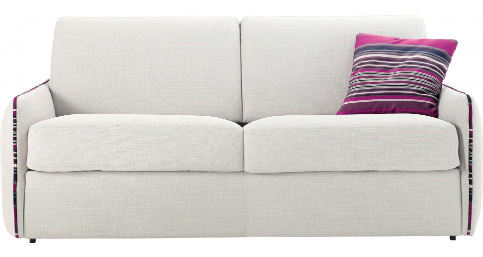 canap lit gain de place en tissu pas cher. Black Bedroom Furniture Sets. Home Design Ideas
