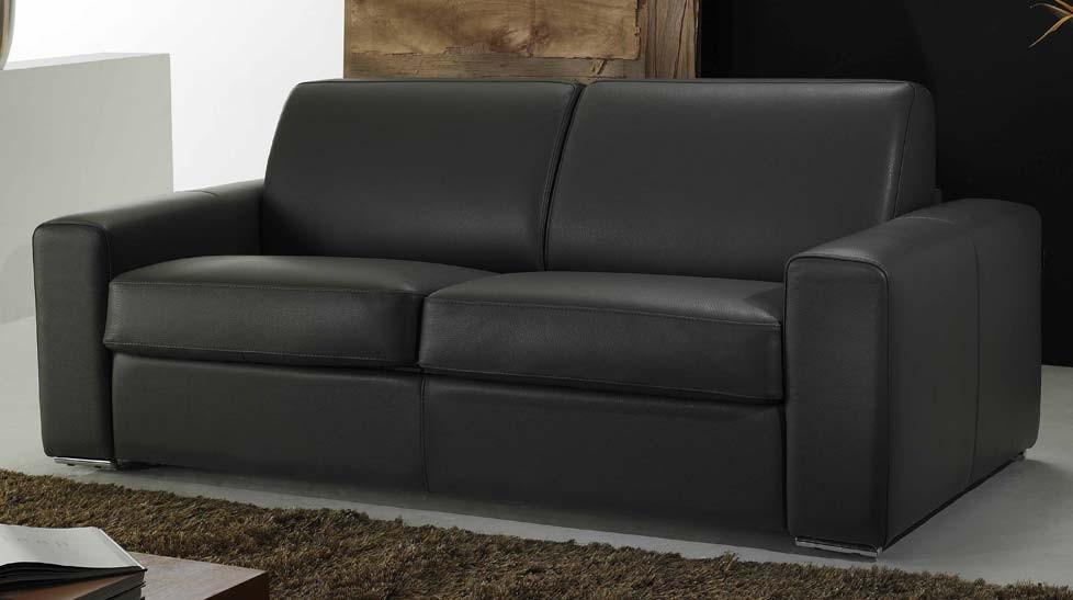 promo canape italien haut de gamme en cuir de vachette With tapis design avec canapé mousse haute résilience