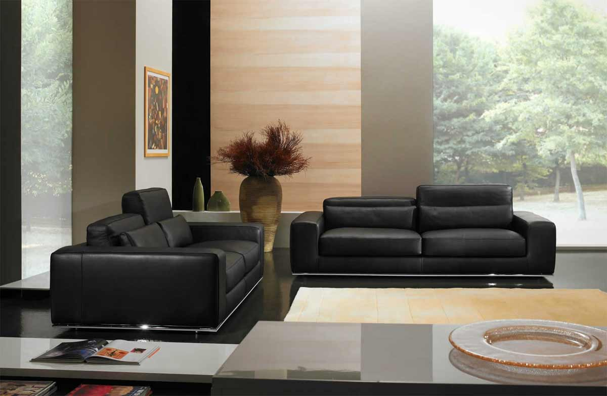 canap cuir italien haut de gamme matisse promo. Black Bedroom Furniture Sets. Home Design Ideas