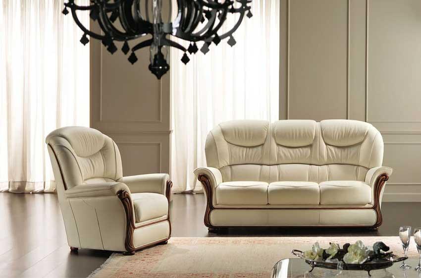 Rosini divani le canap italien haut de gamme - Canape cuir style ancien ...